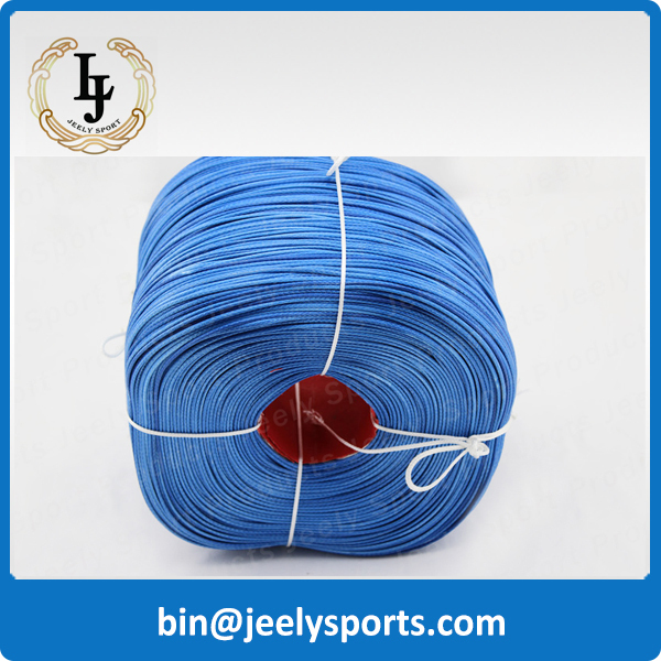Free Shipping 1000m 1500lb Uhmwpe fiber braid paraglider winch rope 2.5mm 12 weave