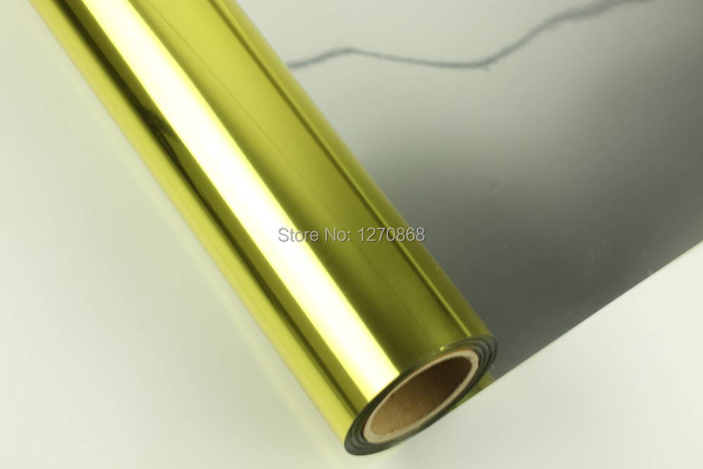 """24""""*30m large format inkjet gold film for positive screen printing(China (Mainland))"""