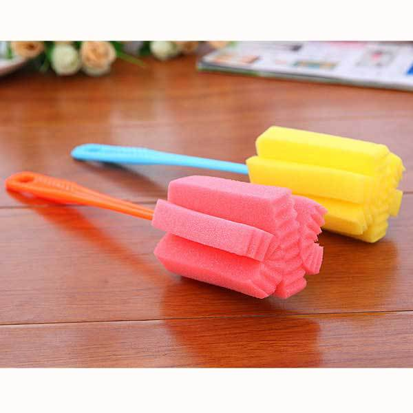BuyOneer High Quality Sponge Vacuum Cup Cleaning Brush(China (Mainland))