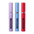 1 Pcs 5ml Fashionable Portable Refillable Perfume Atomizer Scent Spraying Empty Bottle Three Colors