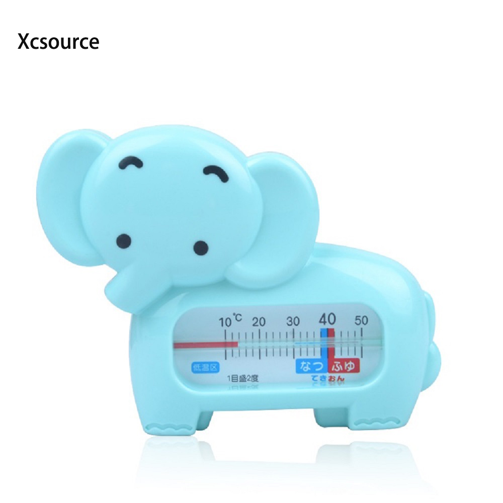 ABS Safety Floating Lovely Elephant Baby Kids Water Bath Thermometer ...