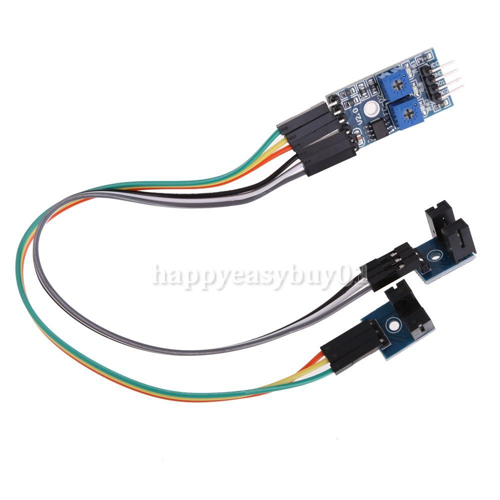 2 Channels Speed Sensor Count Motor Speed Detection Optical Coupling Module H1E1(China (Mainland))