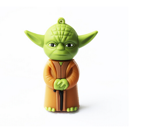 8GB Promotion Price Sales New Star wars Yoda usb 2.0 memory flash stick pendrive(China (Mainland))