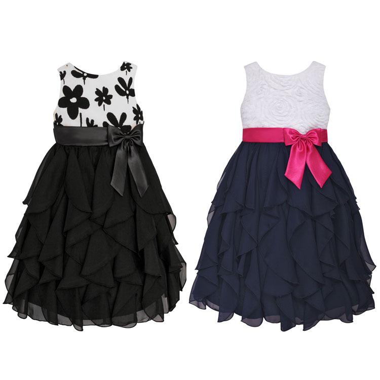 2015 New Girl Party Dress Summer Fashion Sleeveless Princess Dress Vestidos Infantis Girls Dresses Girls Maxi Dress 1855