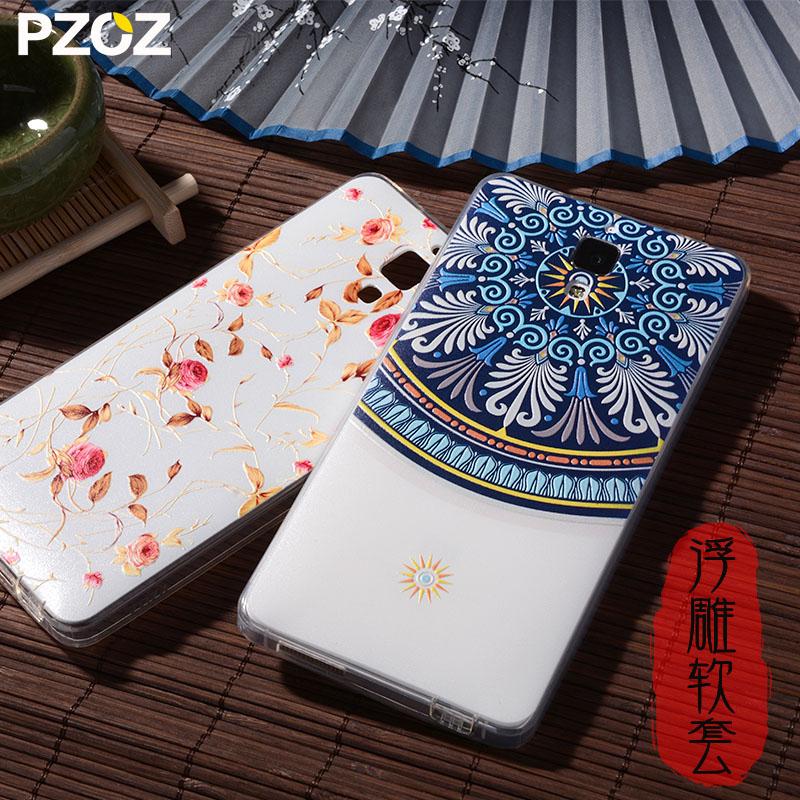 PZOZ Xiaomi mi4 Case Silicone Cover Original Xiaomi Mi 4 Cute Cartoon Slim Protection Phone Soft Shell Xiomi mi4 Xiami Mi4 M4(China (Mainland))