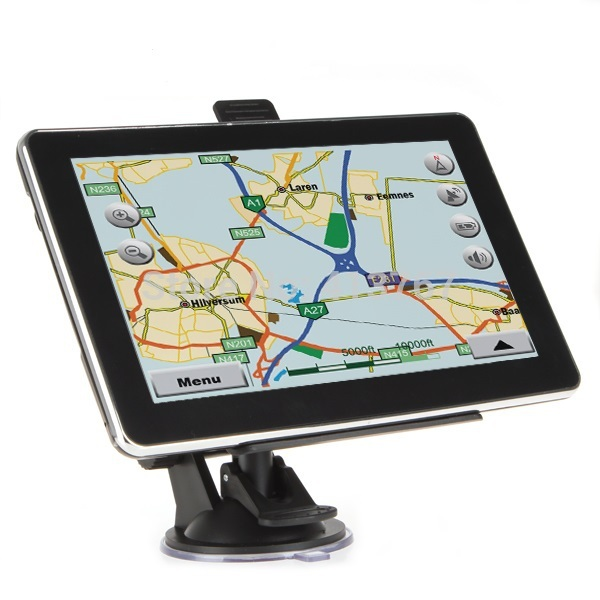 New 7.0 inch Touch Screen GPS Navigation With Bluetooh AV-IN FM Transmitter Built in 4GB Memory(China (Mainland))