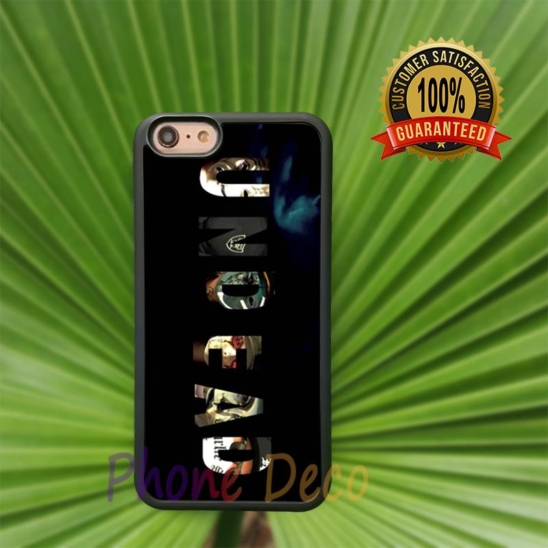 hollywood undead fashion cell phone cases for iphone 4 4s 5 5s 5c 6 6s 6plus 6splus B3107