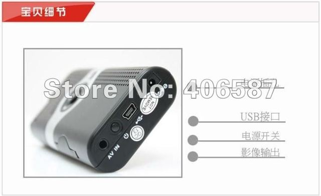 Wholesale LCoS Super Pocket Cinema Mini Projector