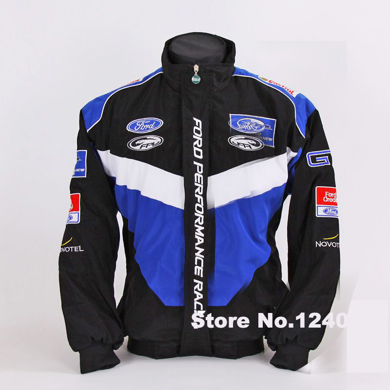 Ford racing winter jackets