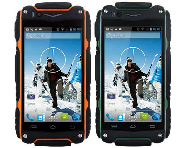 In Stock Outdoor Guophone V8 Android 4.4 MTK6572 Dual Core 4inch Screen Unlocked 3G GPS Waterproof Dustproof Mobile phone(China (Mainland))