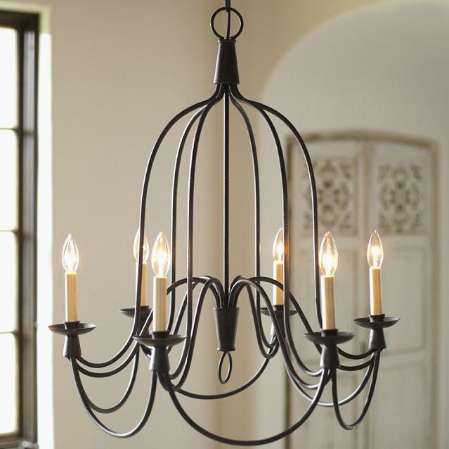 american vintage wrought iron pendant light living room. Black Bedroom Furniture Sets. Home Design Ideas