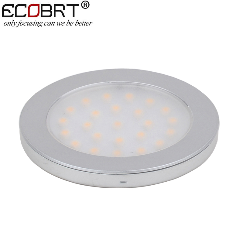 (30pcs/lot) Round Flat Surface Cabinet Lighting 9.5 30V 2W