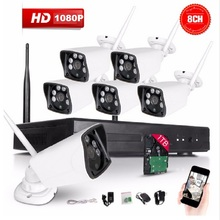 Buy 8CH CCTV System Wireless 1080P NVR 8PCS 2.0MP IR Outdoor P2P Wifi IP CCTV Security Camera System Surveillance Kit for $433.19 in AliExpress store