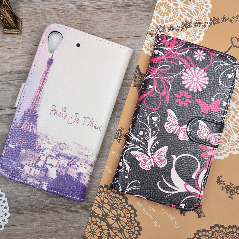 For HTC 626 case Fashion Flip PU Leather cover For HTC Desire 626 626G 626G 626s