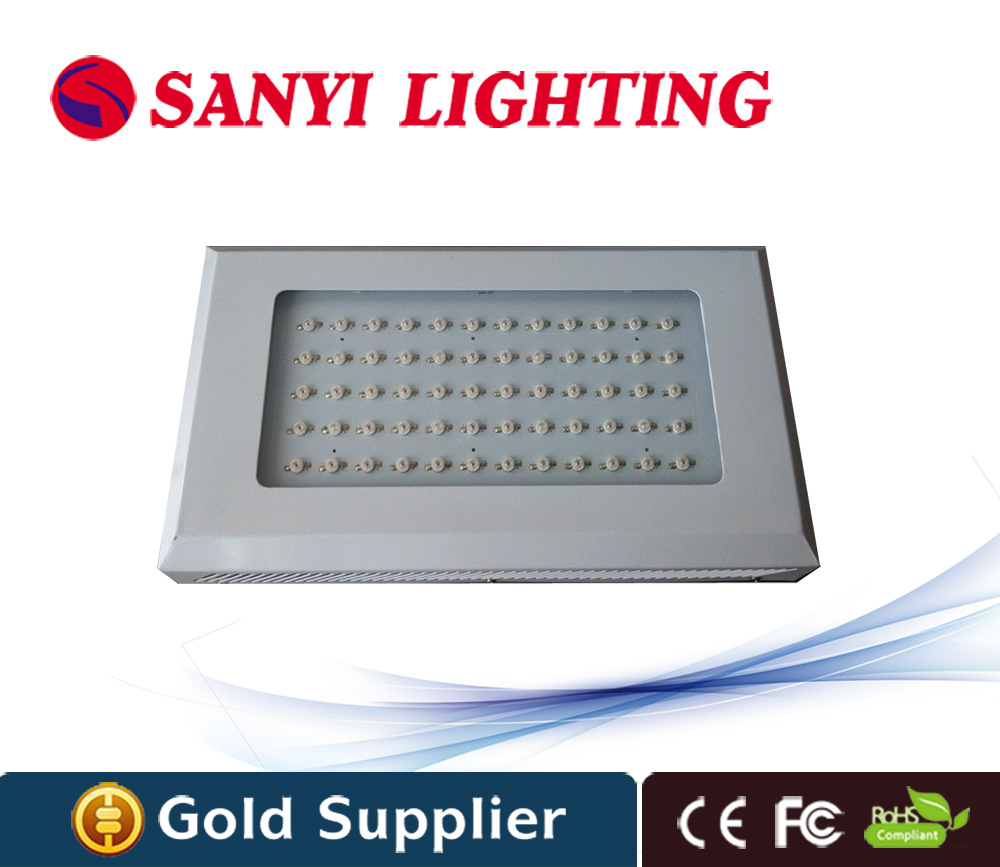 60w plant grow light red blue wavelength CE FCC RoHS certification for indoor greenhouse plants
