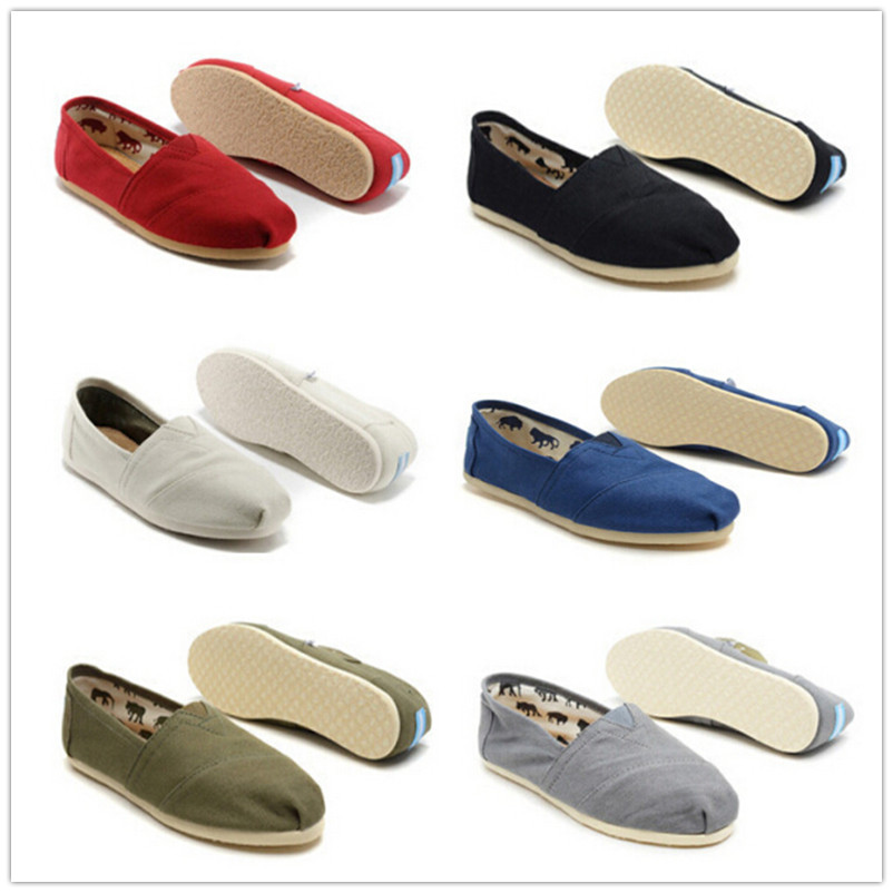 Free shipping Wholesale New Brand Women and Men Fashion Sneakers Canvas Shoes loafers Flats Espadrilles Size 35-45(China (Mainland))