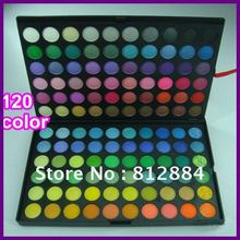 Free Shipping Hot Selling Pro 120 Color Eyeshadow Palette Fashion Eye Shadow Makeup Cosmetic(China (Mainland))