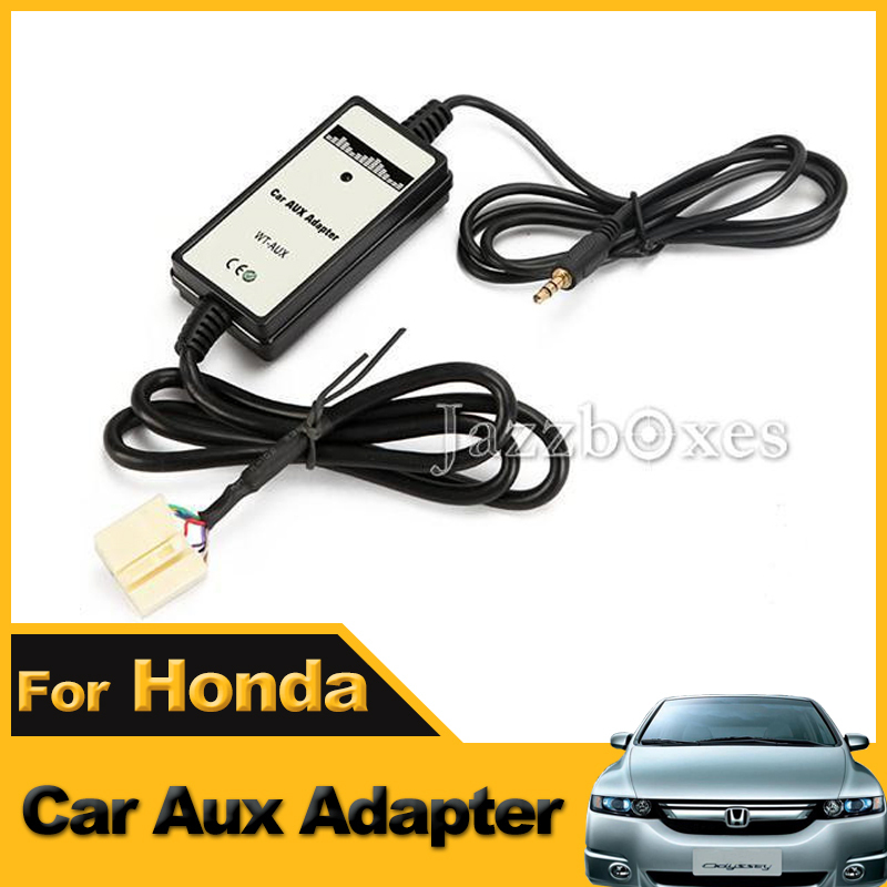 Car CD Interface Adapter AUX In Input For Honda Accord /Civic/CRV Odyssey/Pilot  Fit<br><br>Aliexpress