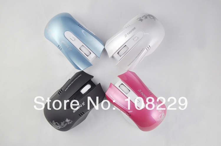 free shipping,10 m 2.4GHz High-Speed USB Wireless Mini USB Receiver Gaming Optical Mouse(China (Mainland))