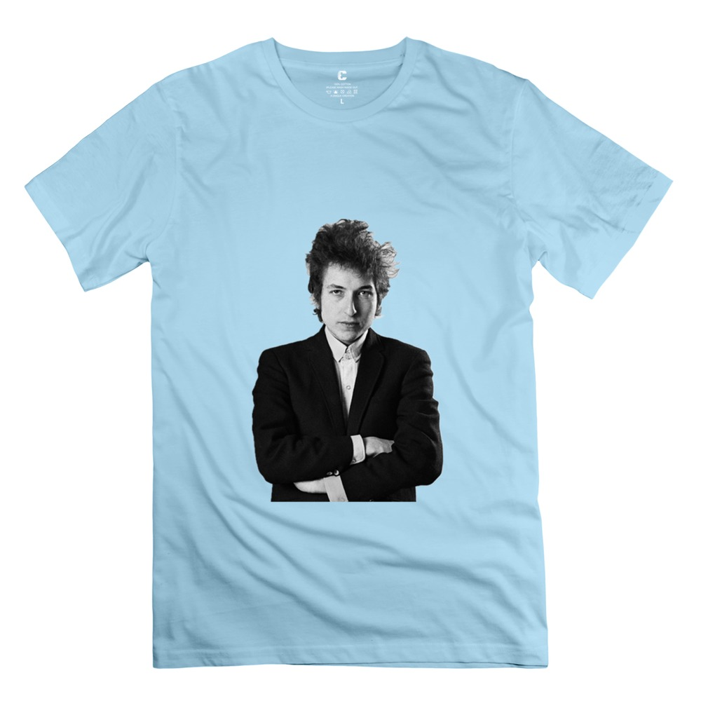2015 Newest Bob Dylan Men t shirt Great Men Short Sleeve Organic Cotton t-shirt Hot Sale(China (Mainland))