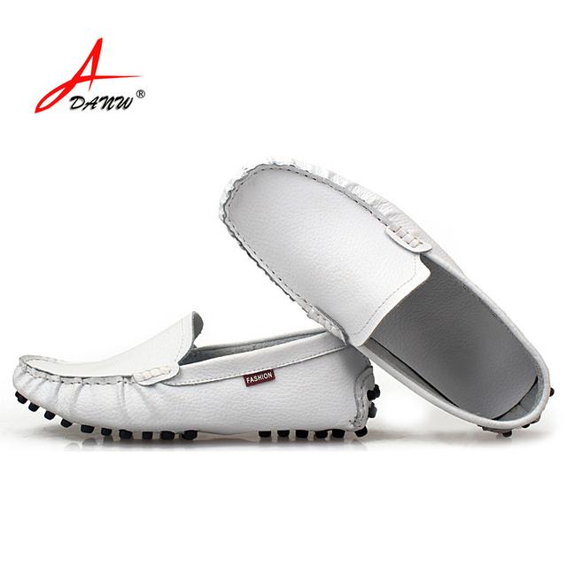 Классический дизайн супер мягкий футляр из натуральной кожи мужчин ботинок квартир ...