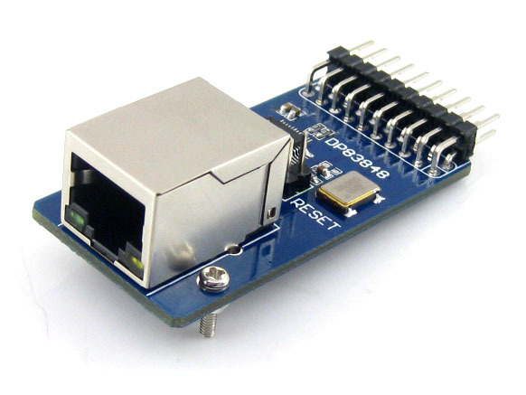 Waveshare DP83848 Ethernet Board Module 10/100 Mb/s Ethernet Physical Layer Transceiver Control Interface Web Server Module(China (Mainland))