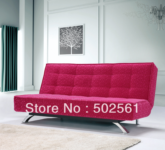 2014 new modern functional fabric 3 seater sofa bed loung living room furniture(China (Mainland))