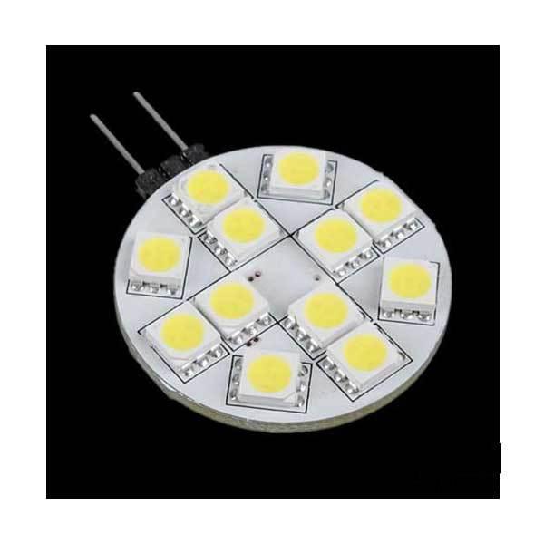 Bonhamer G4 12 SMD 5050 LED Bulb Lamp 12V Pure White Light Car(China (Mainland))