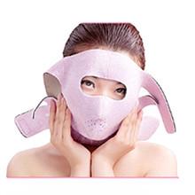 1 Pcs Health 3D Face Massage Mask Relaxtion Facial Belt Lifting Chin Slimming Cheek Bandage Facial Beauty