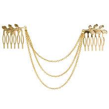 Распродажа, металлическая цепочка с кисточками, повязка на голову, женские аксессуары для волос, женская заколка для волос, ювелирная расче...(China)