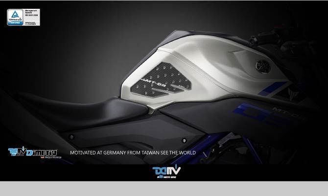 Taiwan Dimotiv Protective Pad fit YAMAHA MT-03 modification accessories motorcycle DMV(China (Mainland))