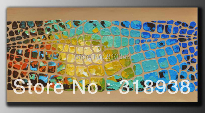 100% Hand painted oil painting canvas art modern picture for wall(China (Mainland))