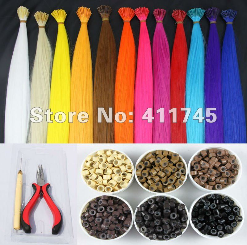 FREE SHIPPING 16 60strands wholesale feather hair extensions12 colors+60pcs silicone micro rings+ one plier and needle<br><br>Aliexpress
