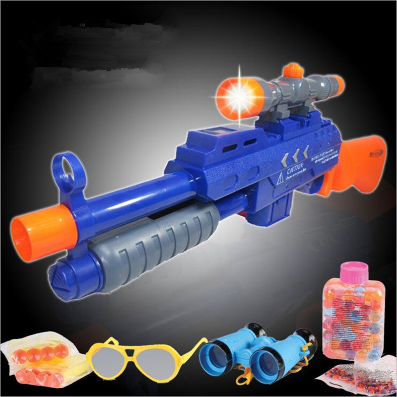 Toy Gun Infrared Sniper Rifle Plastic Paintball Gun Sniper Pistola Airsoft Arma Arme Orbeez Toys Water Ball Soft Bullet & Target(China (Mainland))