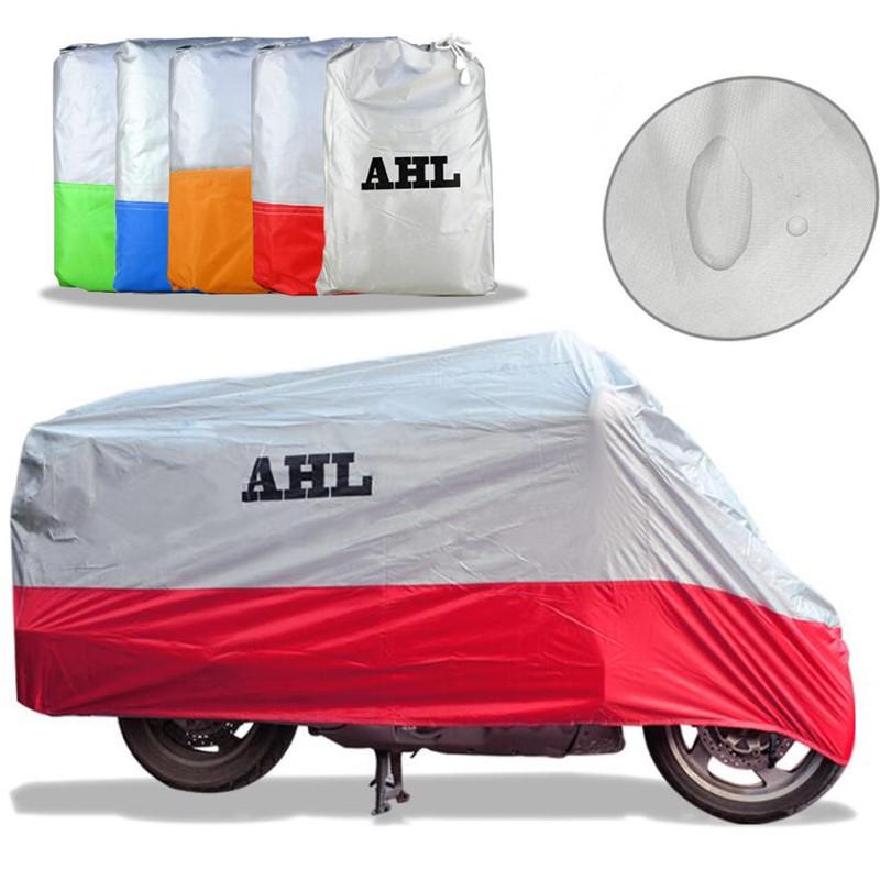 5 Colors Motorcycle Cover Outdoor Waterproof Dustproof UV / Dust Resistant/Prevention Scooter Racing Motocross Bike Covering