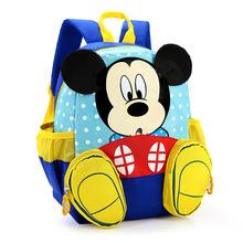 Waterproof Child School Bag Cartoon mickey children backpack/kids kindergarten backpack/kid school bag/Satchel for boys girls(China (Mainland))