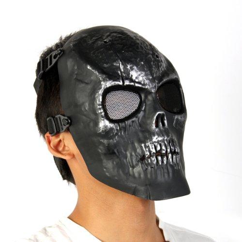 SAF Hot Battlefield Heroes Black Skull Iron Man mask Skeleton Army fans field(China (Mainland))