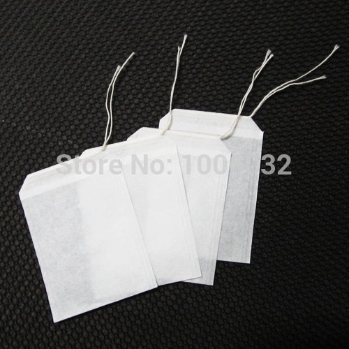 2014 Real Rushed Kettle French Press 100pcs/lot Empty Teabags String Heat Seal Filter Herb Loose Tea Bags Teabag Wholesale(China (Mainland))