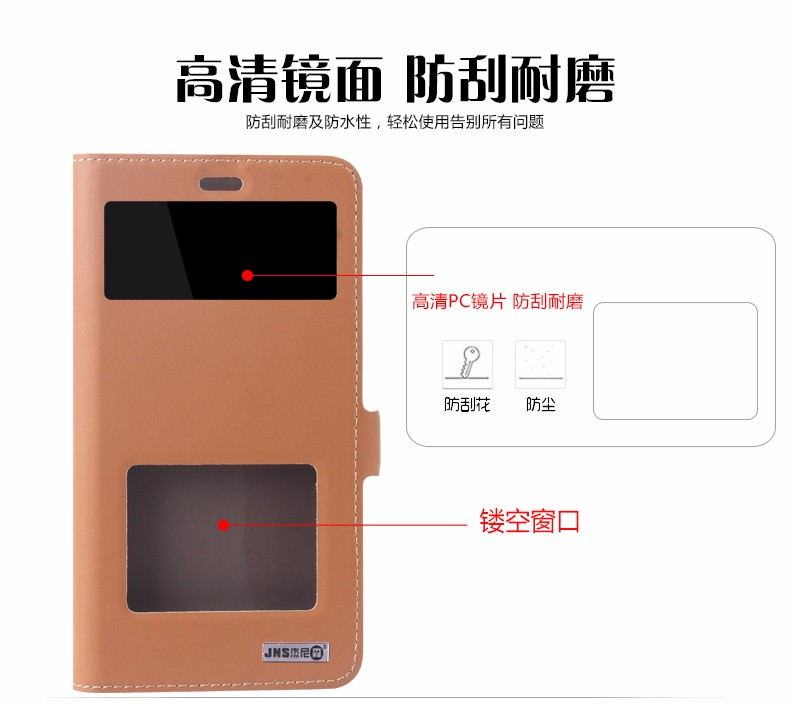 Top Quality Classic Genuine Leather Stand Cover Case For Xiaomi Redmi Note 3 / Redmi Note 3 Pro Flip Mobile Phone Bag