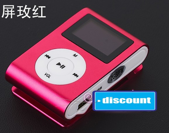 Best seller sport MP3 player No memory inside support expansion card for last promotion free shipping(China (Mainland))