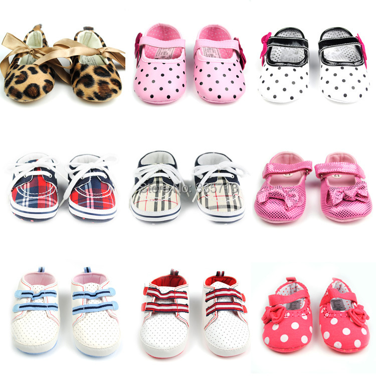 1Pair Cotton Baby Shoes Girls And Boys Shoes Kids First Walkers Solid Summer Sapato Infantil Crib Shoe -- BW02 PM30 SX(China (Mainland))