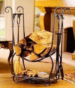 Fashion iron tool holder fireplace frame fireplace rack fireplace