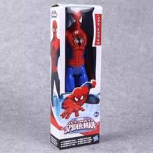 2018 NOVA Spiderman Marvel The Avengers Capitão América Homem De Ferro PVC Action Figure Collectible Modelo Toy para Crianças das Crianças brinquedos(China)