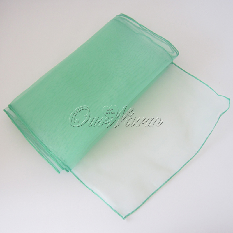 """50Pcs/lot Many Colors Organza Table Runner 12""""x108"""" for Wedding Decoration Event Banquet Party Decor Supply(China (Mainland))"""