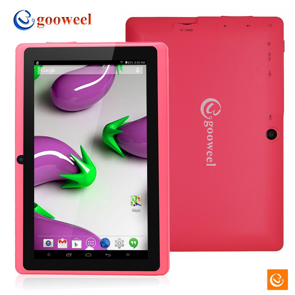 Планшетный ПК Gooweel Q8HD 7/hd 1024x600pix A33 android 4.4 1,3 8 Bluetooth WiFi OTG