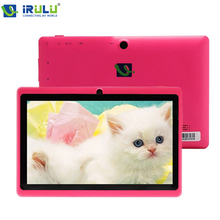 iRULU eXpro 1 x1 7 inch Quad core Q88 1.5GHz android 4.4 tablet pc allwinner A33 512M 16GB ROM Capacitive Screen Dual cam WIFI(China (Mainland))