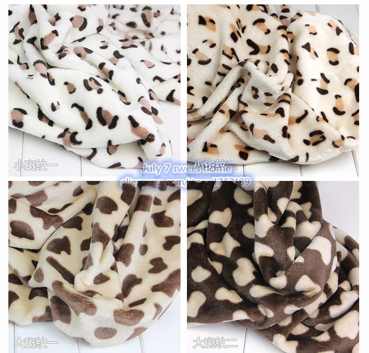 Free shipping 160CM * 100CM flannel cloth Phalle velvet fabric-sided blanket super soft plush fabric clothing diy fabric