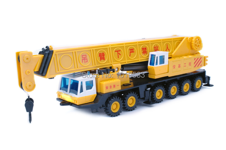 JOYCITY 1/60 Scale Truck Model Toys Heavy Duty Crane Diecast Metal Car Toy New In Box For Gift/Kids(China (Mainland))
