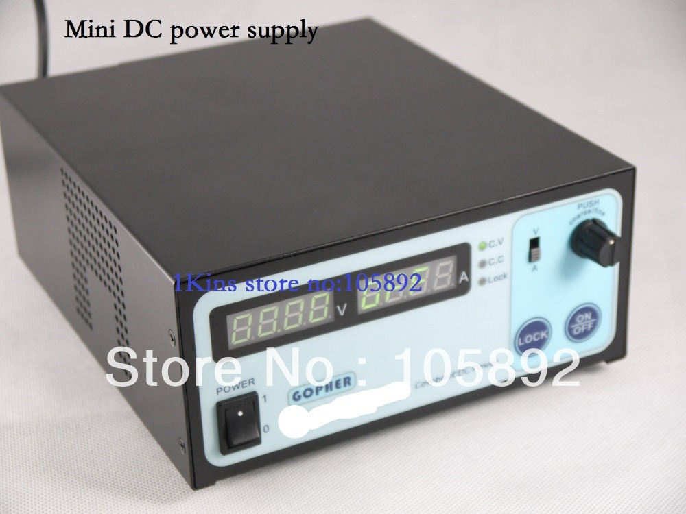 Wholesale Full metal precision Compact Digital Adjustable DC Power Supply OVP/OCP/OTP low power 60V11A 170V-264V 0.01V/0.01A<br><br>Aliexpress