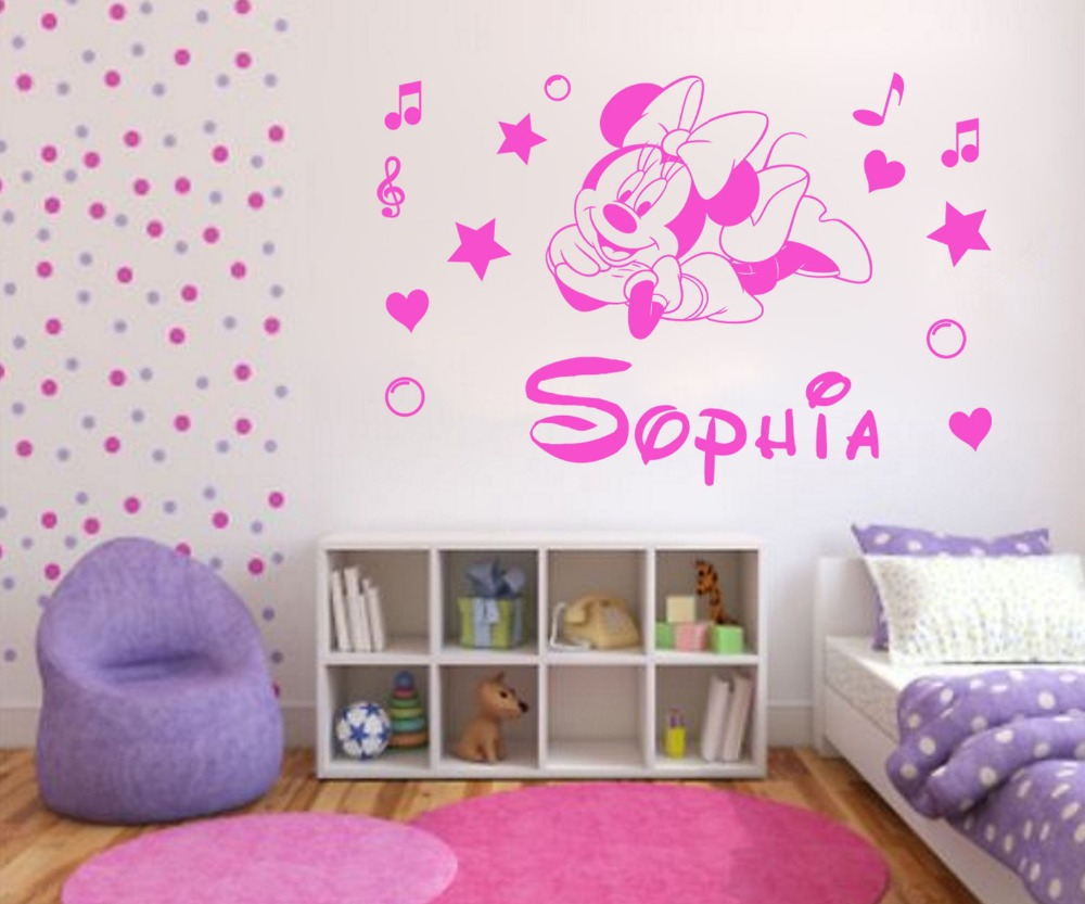 Minnie Mouse Stuff For Bedroom Popular Baby Minnie Mouse Decorations Room Buy Cheap Baby Minnie